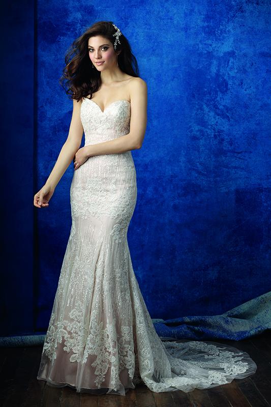 Allure Wedding Dress 9350