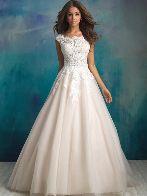 9520 Allure Bridals Wedding Dress