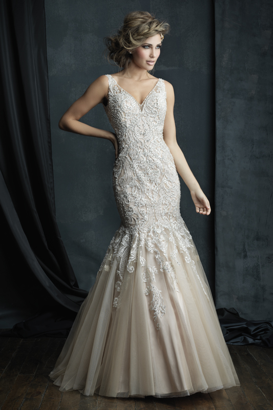 C388 Allure Couture Bridal Gown