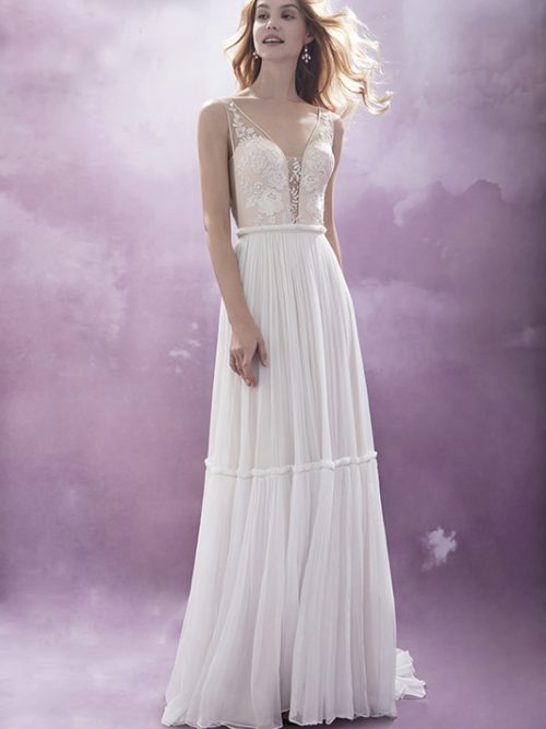 601500383 Aquarius Chic Nostalgia Wedding Dress
