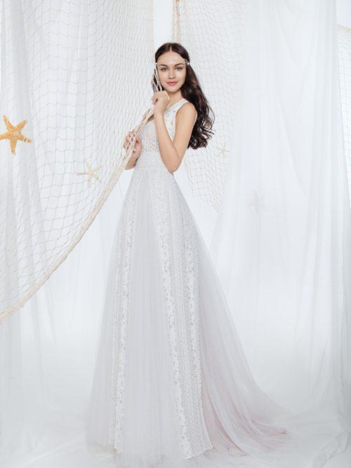 601500330 Echo Chic Nostalgia Wedding Dress