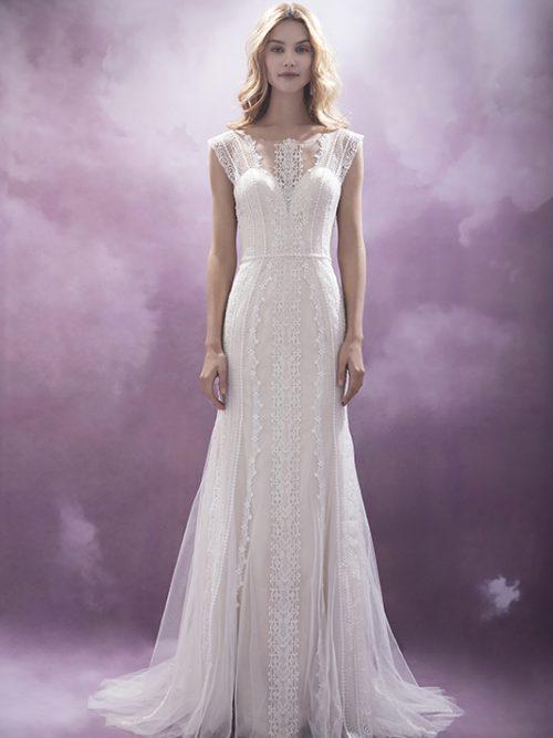 601500375 Shaula Chic Nostalgia Wedding Dress