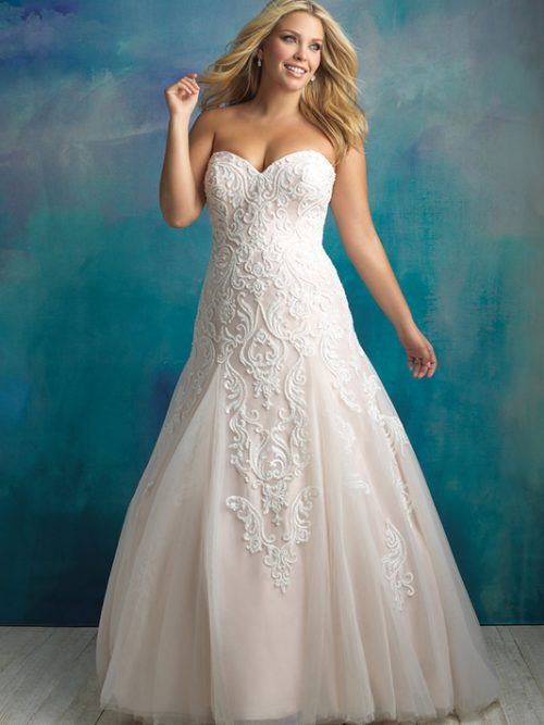 W417 Allure Women Bridal Gown