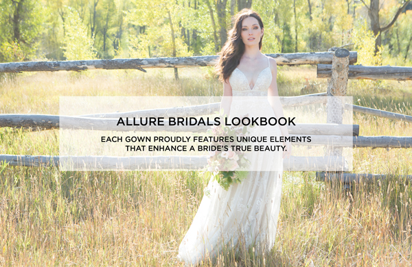Allure Bridals Look Book