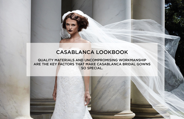 Casablanca Bridal Look Book