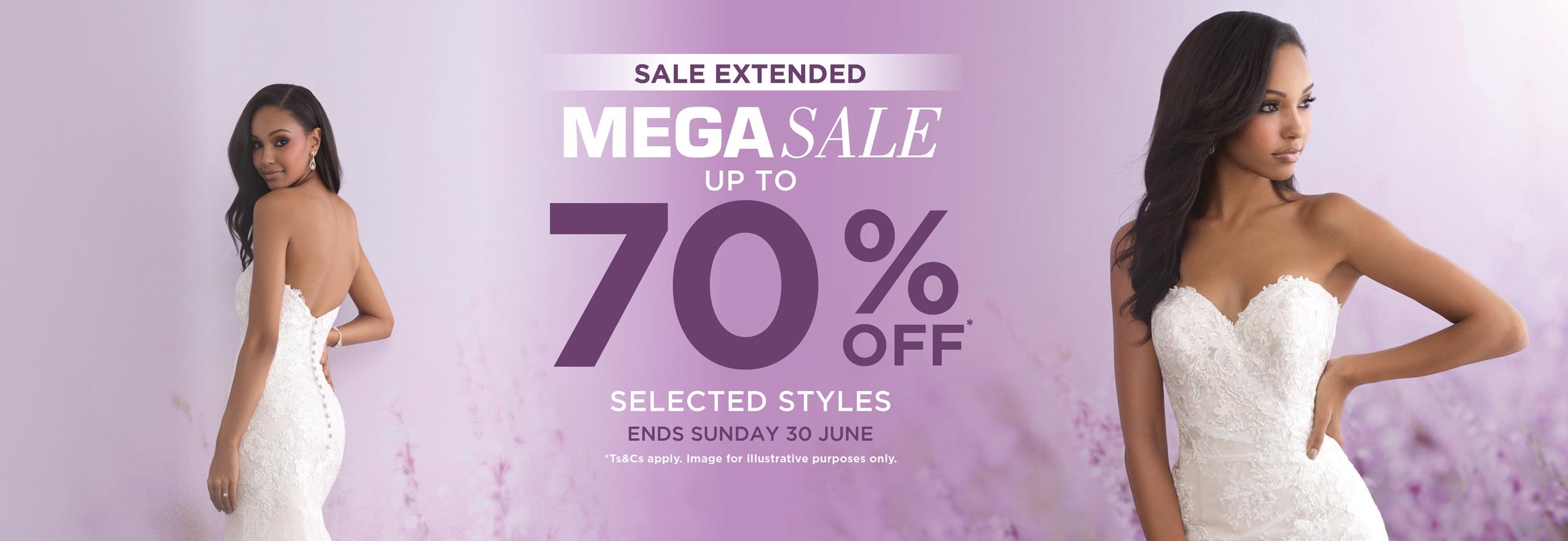 EXTENDED Mega Sale Web Banner