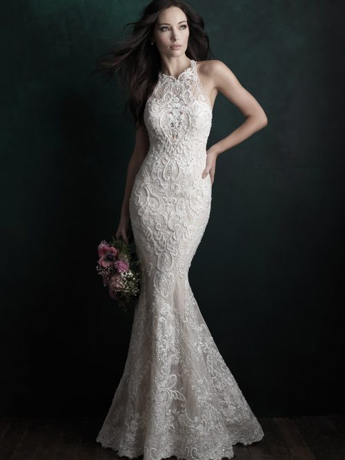 C508 Allure Couture Fit and Flare Bridal Gown