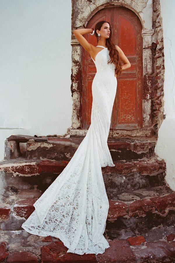 F165 Kennedy Wilderly Bride Sheath Wedding Dress