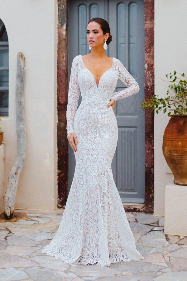 F166 Valentina Wilderly Bride Wedding Dress