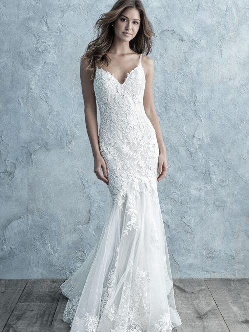 9659 Allure Bridals Sheath Wedding Dress