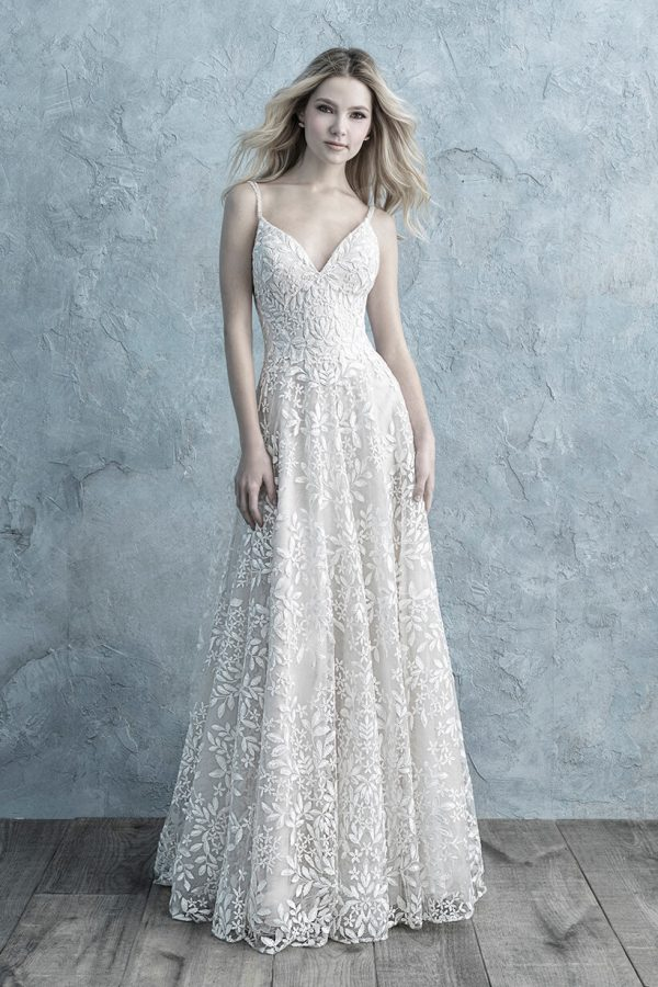 9669 Allure Bridals Sheath Wedding Dress