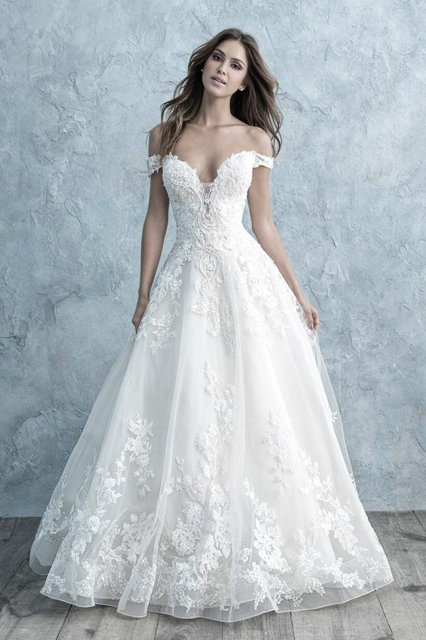 9681 Allure Bridals Classic Ballgown