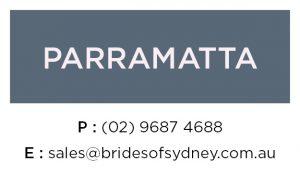 Wedding Dresses Parrmatta