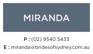 Miranda Wedding Dresses