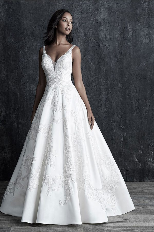 Allure Couture C544 Soft Mikado Ball Gown