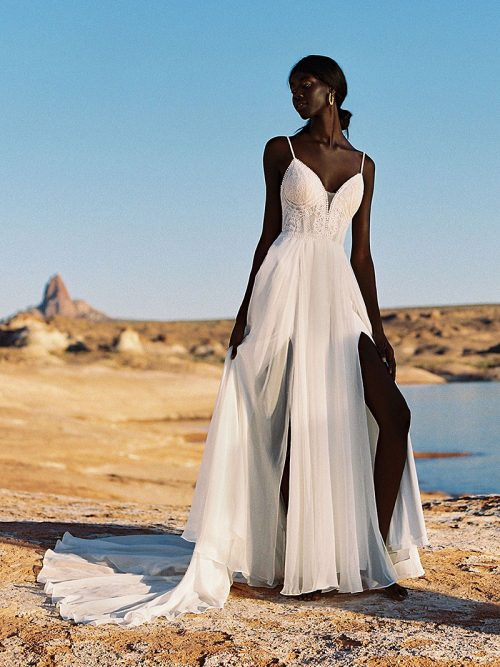 Strappy Wedding Dress Wilderley Bride F189