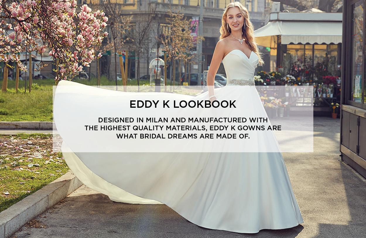 EDDY K Wedding Dress Lookbook