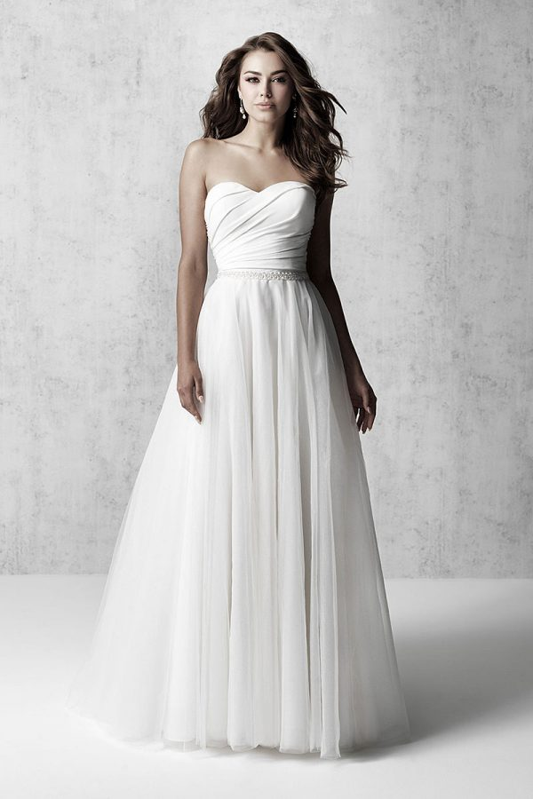 MJ609 Madison James A-Line Wedding-Dress