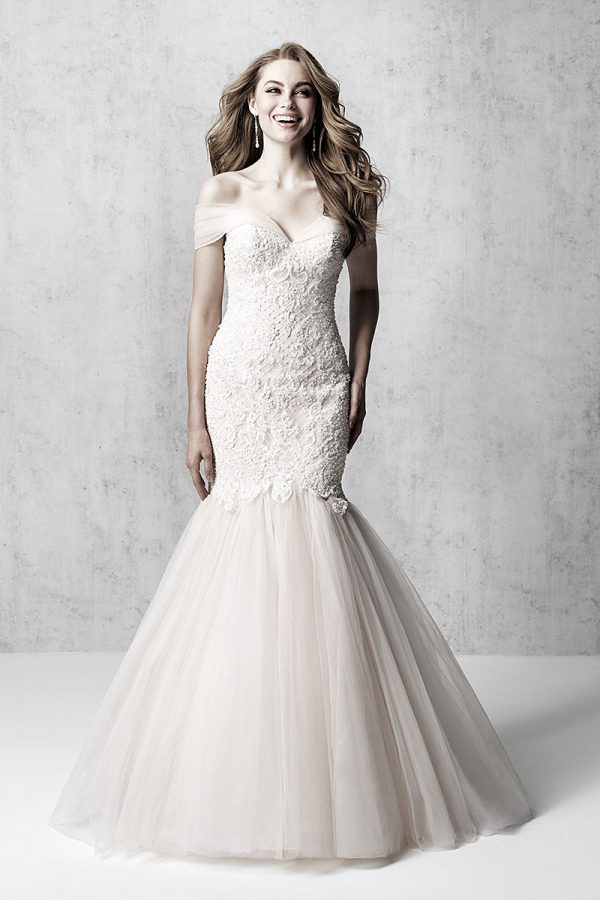 Sheath Wedding Dress Madison-James MJ612