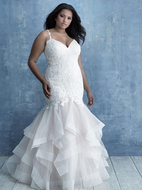 W460 Allure Women figure flattering wedding Dress