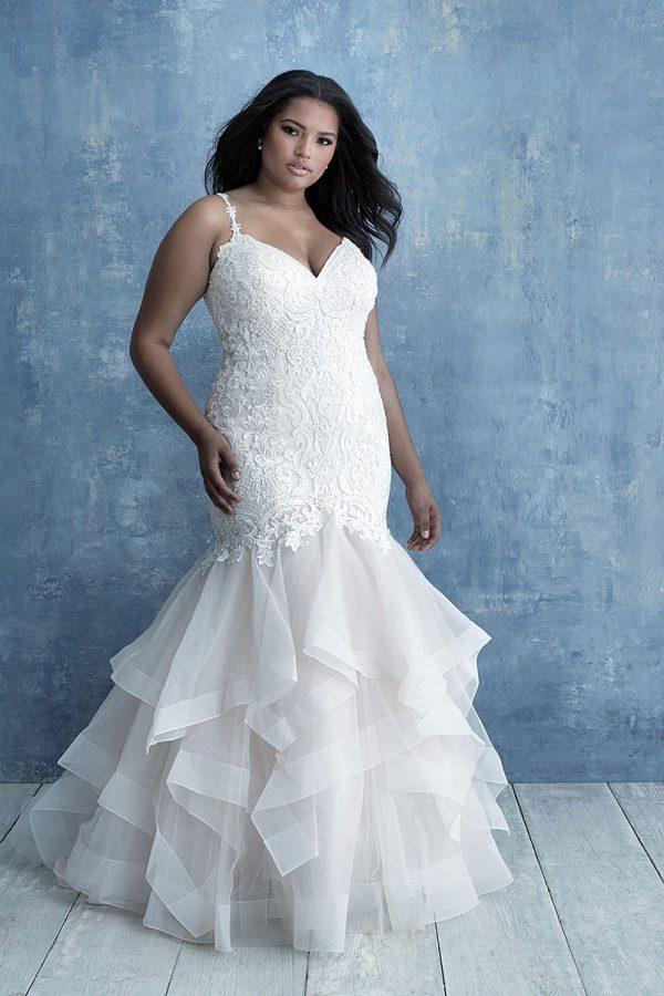 W460 Allure Women figure flattering wedding Dress